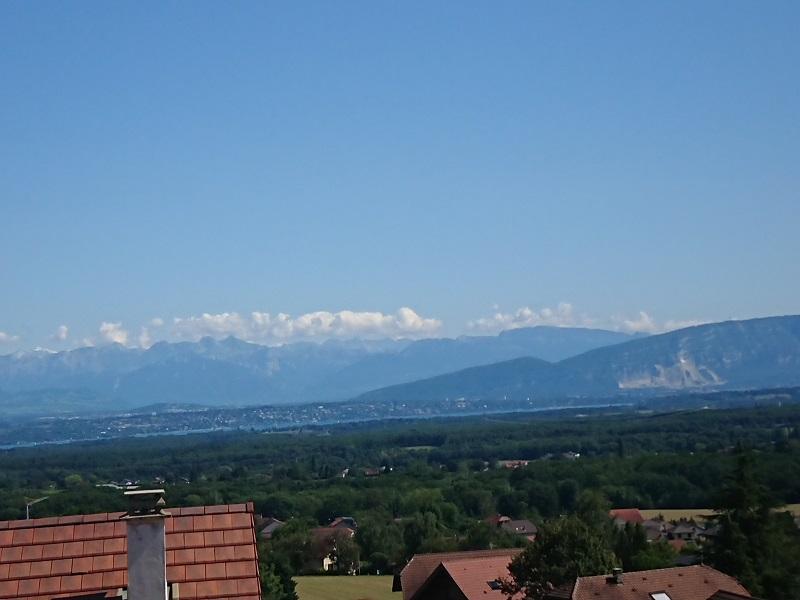 GEX Pitegny Mourex Chalet ossature bois 5ch. vue spectaculaire alpes Mt Blanc