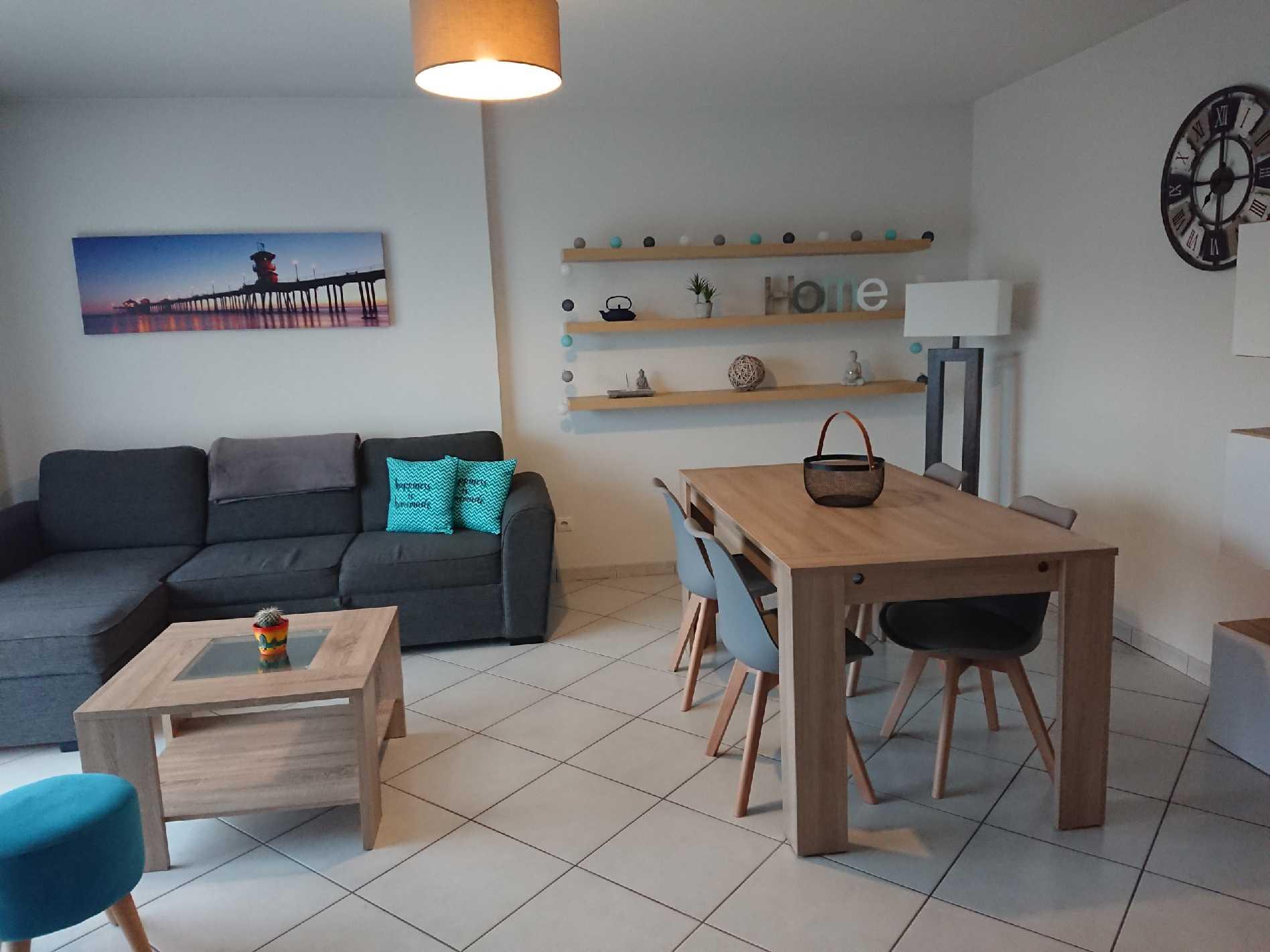 Cessy appartement T3 meublé 73m²au calme dernier étage