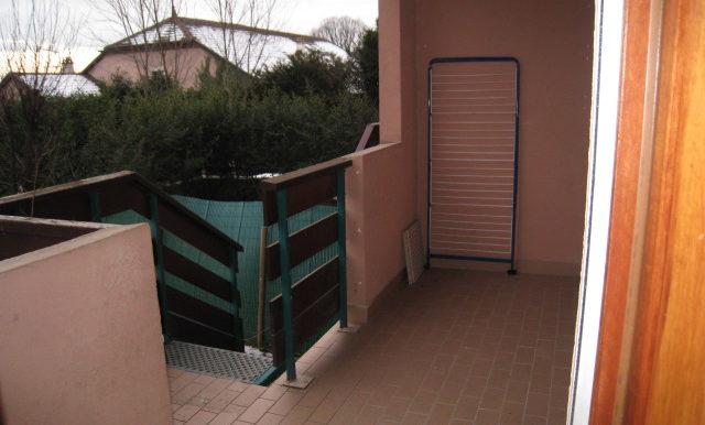 balcon accès jardin