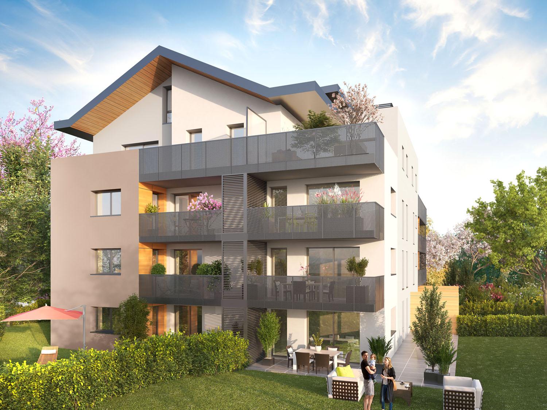 Divonne – T4 neuf en duplex de 132m², grande terrasse de 63m²